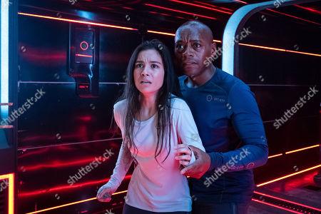 Madalyn Horcher as Abigail Garcia and Fraser James as Henri