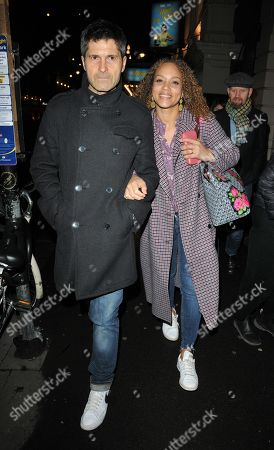 Stock Picture of Angela Griffin and Jason Milligan