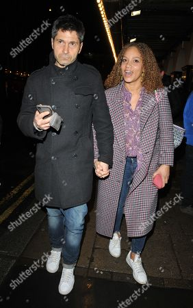 Stock Photo of Angela Griffin and Jason Milligan
