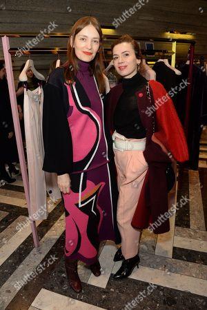 Roksanda Ilincic and Lara Bohinc