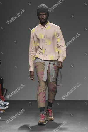 Editorial picture of Robert Geller show, Runway, Fall Winter 2019, New York Fashion Week Men's, USA - 05 Feb 2019
