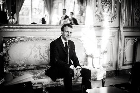 Editorial image of President Emmanuel Macron meets with Andre Chassaigne, Elysee Palace, Paris, France - 05 Feb 2019