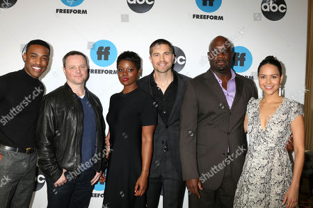 TItus Makin, Alexi Hawley, Afton Williamson, Eric Winter, Richard T. Jones, Alyssa Diaz