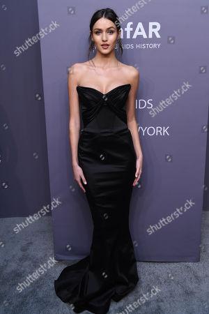 Editorial picture of amfAR Gala, Arrivals, Fall Winter 2019, New York Fashion Week, USA - 06 Feb 2019