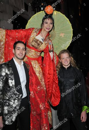 Editorial image of Annabel's Chinese New Year party, London, UK - 05 Feb 2019
