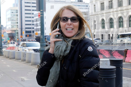 Catherine Oxenberg arrives at Brooklyn federal court, in New York, . Oxenberg's daughter India has been named in a criminal complaint against an upstate New York group called NXIVM, accused of branding some of its female followers and forcing them into unwanted sex