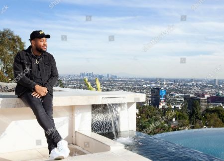 """Boi-1da poses for a portrait in Los Angeles. The Jamaica-born, Toronto-raised producer is nominated for six Grammys including three in the best rap song category, for his work on Drake's """"God's Plan,"""" Eminem's """"Lucky You"""" and Jay Rock's """"Win"""