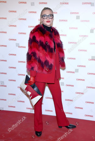 Editorial picture of 'Campari Red Diaries: Chapter 3' premiere, Milan, Italy - 05 Feb 2019