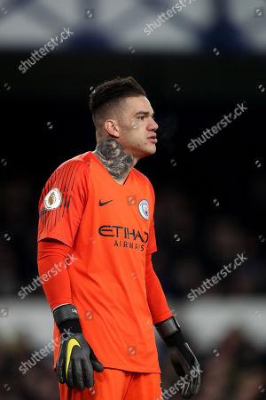 Stock Photo of Manchester City goalkeeper Ederson Santana de Moraes