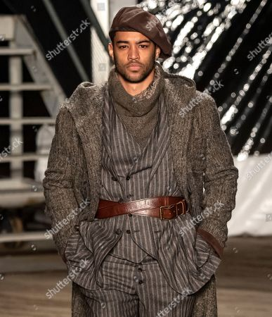 Editorial image of Joseph Abboud show, Runway, Fall Winter 2019, New York Fashion Week Men's, USA - 04 Feb 2019