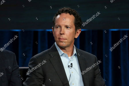 """Matt Nix participates in the """"Voices of Drama"""" panel during the FOX presentation at the Television Critics Association Winter Press Tour at The Langham Huntington, in Pasadena, Calif"""