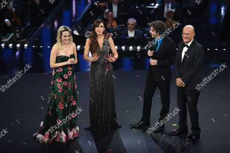 Laura Chiatti, Virginia Raffaele, Michele Riondino, Claudio Bisio