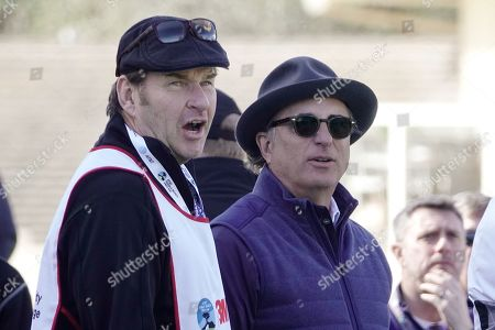 Nick Faldo and Andy Garcia