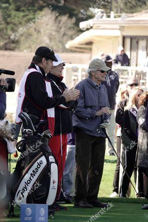 Nick Faldo, Bill Murray and Clint Eastwood