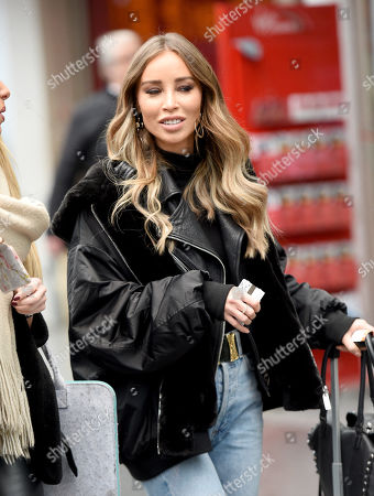 Editorial photo of Lauren Pope at Manchester Piccadilly Rail Station, UK - 06 Feb 2019