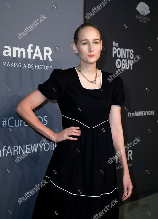Leelee Sobieski attends the amfAR New York Gala 2019 at Cipriani Wall Street  USA, 06 February 2019. The charity event benefits the Foundation's AIDS research programs.