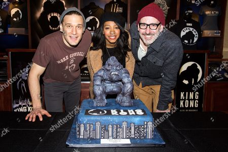 Editorial image of 'King Kong' the musical celebrates 100th Performance, New York, USA - 05 Feb 2019