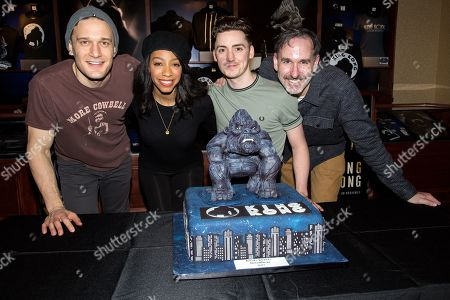 Stock Photo of Eric Morris, Christiani Pitts, Drew McOnie, Erik Lochtefeld