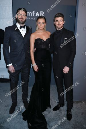 Alex Pall, Kelsea Ballerini and Andrew Taggart