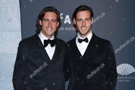 Stock Image of Cameron Winklevoss and Tyler Winklevoss