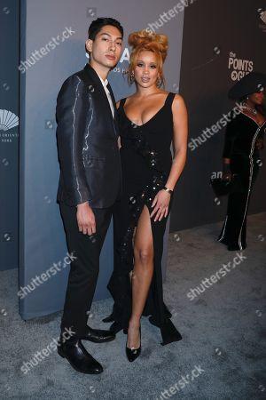 Lucas Goodman and Jillian Hervey