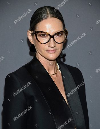 Jenna Lyons attends the amfAR Gala New York AIDS research benefit at Cipriani Wall Street, in New York