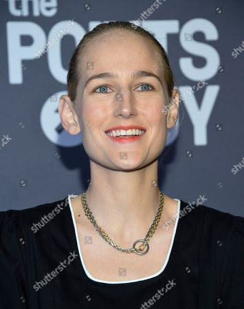 Leelee Sobieski attends the amfAR Gala New York AIDS research benefit at Cipriani Wall Street, in New York
