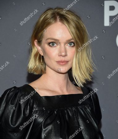 Lindsay Ellingson attends the amfAR Gala New York AIDS research benefit at Cipriani Wall Street, in New York