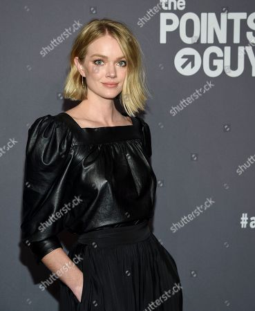 Stock Picture of Lindsay Ellingson attends the amfAR Gala New York AIDS research benefit at Cipriani Wall Street, in New York