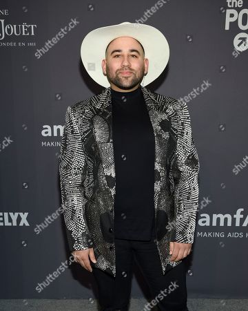 Parson James attends the amfAR Gala New York AIDS research benefit at Cipriani Wall Street, in New York