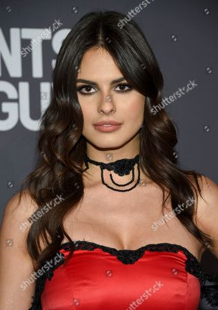 Stock Picture of Bojana Krsmanovic attends the amfAR Gala New York AIDS research benefit at Cipriani Wall Street, in New York