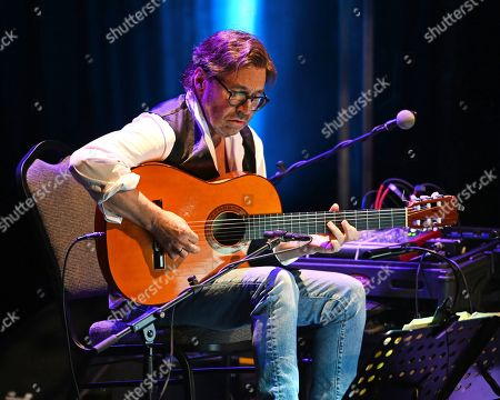 Editorial photo of Al Di Meola in concert at The Parker Playhouse, Fort Lauderdale, Florida, USA - 06 Feb 2019