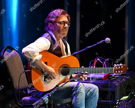 Editorial image of Al Di Meola in concert at The Parker Playhouse, Fort Lauderdale, Florida, USA - 06 Feb 2019
