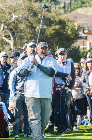 Editorial photo of 3M Celebrity Challenge golf tournament, Pebble Beach, USA - 06 Feb 2019