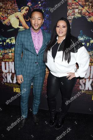 John Legend and Cheryl Wray