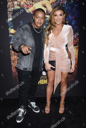 Kyle Massey and Hana Giraldo