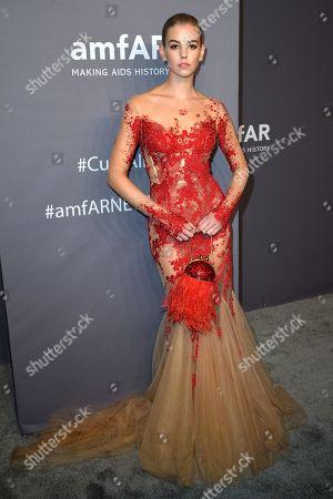 Editorial image of amfAR Gala, Arrivals, Fall Winter 2019, New York Fashion Week, USA - 06 Feb 2019