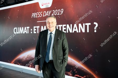 French enterprise Veolia CEO Antoine Frerot poses during the company's press day in Paris, France, 07 February 2019. Veolia Environnement S.A., is a French transnational company active in water management, waste management and energy services.