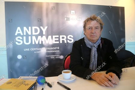 Editorial image of Andy Summers, 'A certain strangeness' photographic exhibition, Montpellier, France - 06 Feb 2019