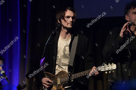 Micah Nelson performs at the Producers & Engineers Wing 12th Annual GRAMMY Week Celebration at the Village Studio, in Los Angeles