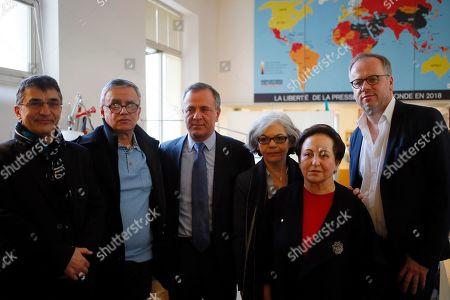 Editorial photo of Iran Journalists Jailed, Paris, France - 07 Feb 2019