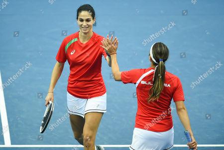 Editorial image of Estonia v Bulgaria, Fed Cup Tennis, Zielona Gora, Poland - 06 Feb 2019