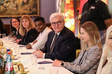 Editorial photo of German President Frank-Walter Steinmeier visits Frankfurt Main, Frankfurt Am Main, Germany - 07 Feb 2019