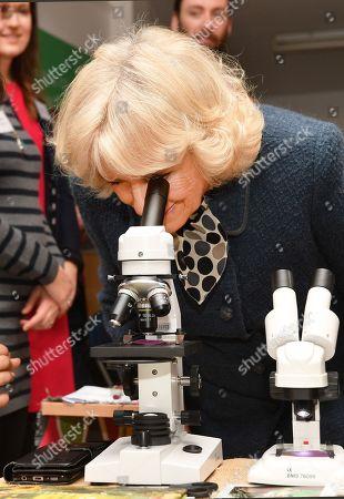 Camilla Duchess of Cornwall visit to Lambeth