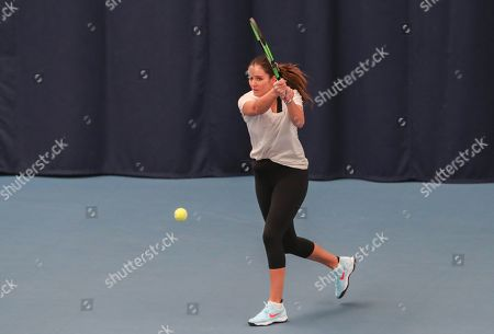 Editorial photo of Great Britain v Greece  , Fed Cup by BNP Paribas, Tennis, Europe/Africa Zone Group 1, University of Bath, UK - 07 Feb 2019