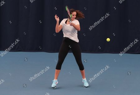 Editorial picture of Great Britain v Greece  , Fed Cup by BNP Paribas, Tennis, Europe/Africa Zone Group 1, University of Bath, UK - 07 Feb 2019