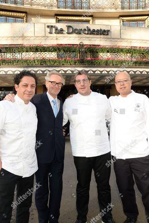 Francesco Mazzei, Chris Corbin, Claude Best and Justin Ip