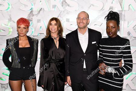 Halsey, Carine Restoin-Roitfeld, Marc Metrick and Lupita Nyong'o