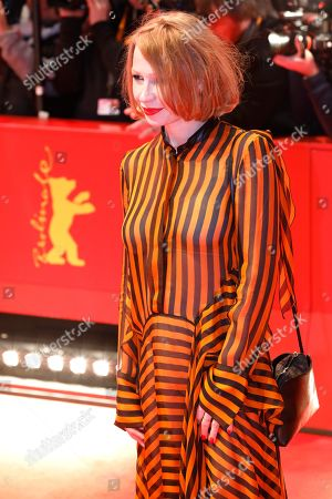 Birgit Minichmayr arrives for the opening ceremony of the 69th annual Berlin International Film Festival in Berlin, Germany, 07 February 2019. The Berlinale runs from 07 to 17 February.