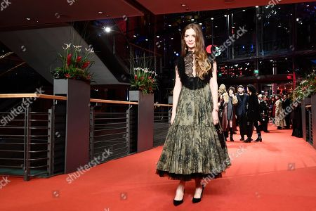 Pheline Roggan arrives for the opening ceremony of the 69th annual Berlin International Film Festival in Berlin, Germany, 07 February 2019. The Berlinale runs from 07 to 17 February.